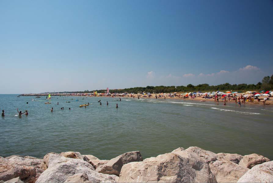 Peščena plaža